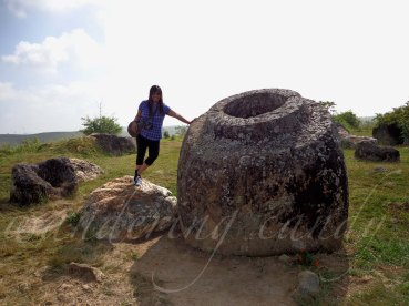 October: Visited the Plain of Jars in Laos.